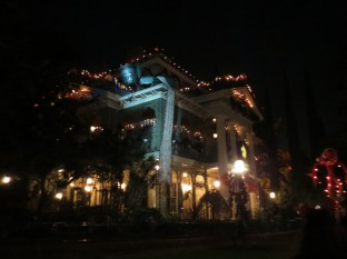 Haunted Mansion - although it was the Christmas version
