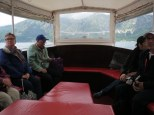 Our boatride back to Perast