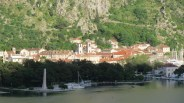 Old town Kotor from the ship