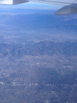 Hollywood, with Burbank in the rear