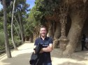 Larry at Park Guell