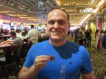 Here's my results after playing craps at Margaritaville! $500 big ones!