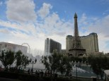 A great backdrop to watch the Bellagio water show with