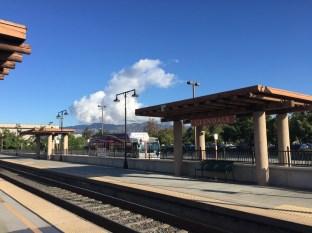 The Glendale Metrolink station