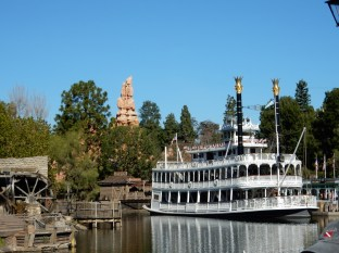 It was a beautiful day at the Rivers of America