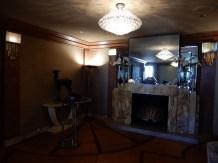 Inside the Oviatt's lobby