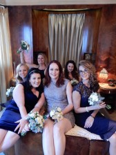 The gorgeous and wonderful wedding party