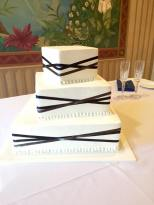 Our delicious and beautiful wedding cake