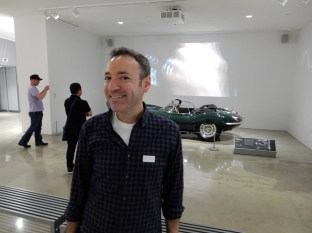 Larry at the Petersen!