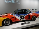 The BMW art car painted up by Calder