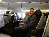 Now in our Business Class accommodations to CDG