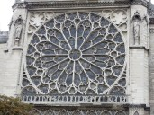 Rose window from the outside