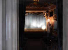 A quick glimpse into the Theatre de la Reine, where Marie would put on shows