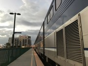 My Amtrak train ended up having to wait in Oceanside for 2 hours