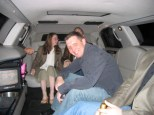Inside the Limo!