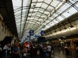 Inside the Gare de L'est - I love European train stations