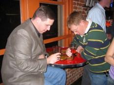 Jeff and Tom, sad