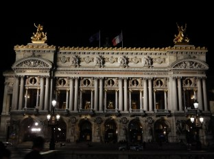 The Paris Opera House was on the way back to the Metro