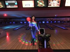 Sveta working the red ball