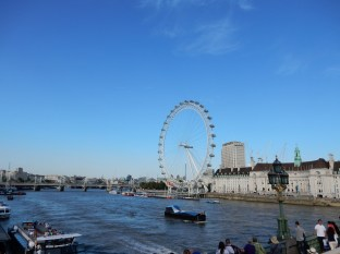 The Thames and the London Eye