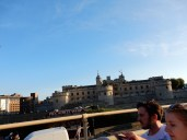 After the horrific traffic let up, we drove by the Tower of London