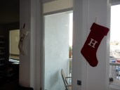 Also hung up some new stockings