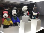 There was a Snoopy fashion exhibit for some reason