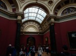 The museum interior is beautiful