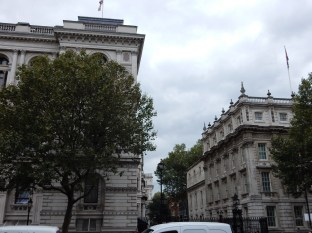 This is 10 Downing Street, where the Prime Minister lives