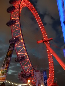 London Eye - RED