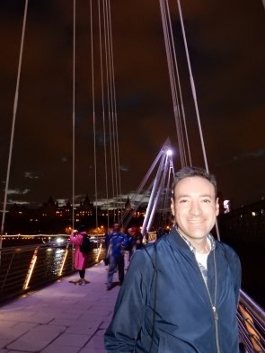 Up on the Jubile Bridge