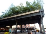 The southern end of the High Line