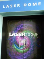 We explored the kids part of the museum next, including the Laser Dome