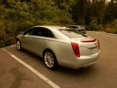 The Caddy - yeah, we were riding in comfort today