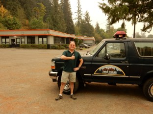 We next found our way to the location of the Twin Peaks Sheriff Department
