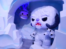 Also adorable, the Hoth monster and Luke