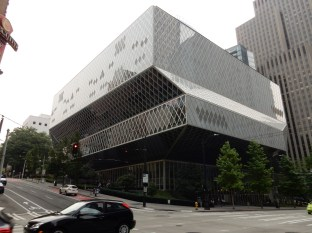 Seattle's Central Library, designed by Rem Koolhaas