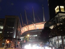 Vancouver's BC Place soccer stadium