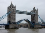 The Tower Bridge opens up