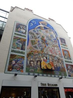 A mural for SoHo