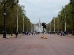 Looking back toward Buckingham Palace