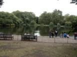 Looking at St James Park Lake