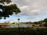 You can see the American Adventure area over there
