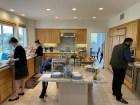 The kitchen spread