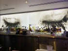 Upstairs at Katsuya in the SLS getting a drink