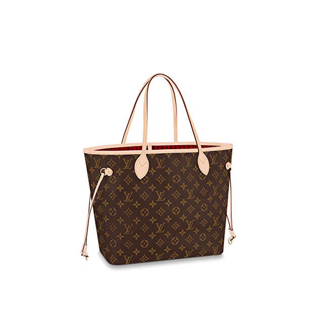 louis vuitton purse red inside