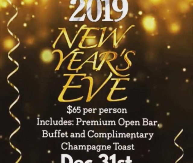The Stewed Cow Hoboken New Years Eve 2019