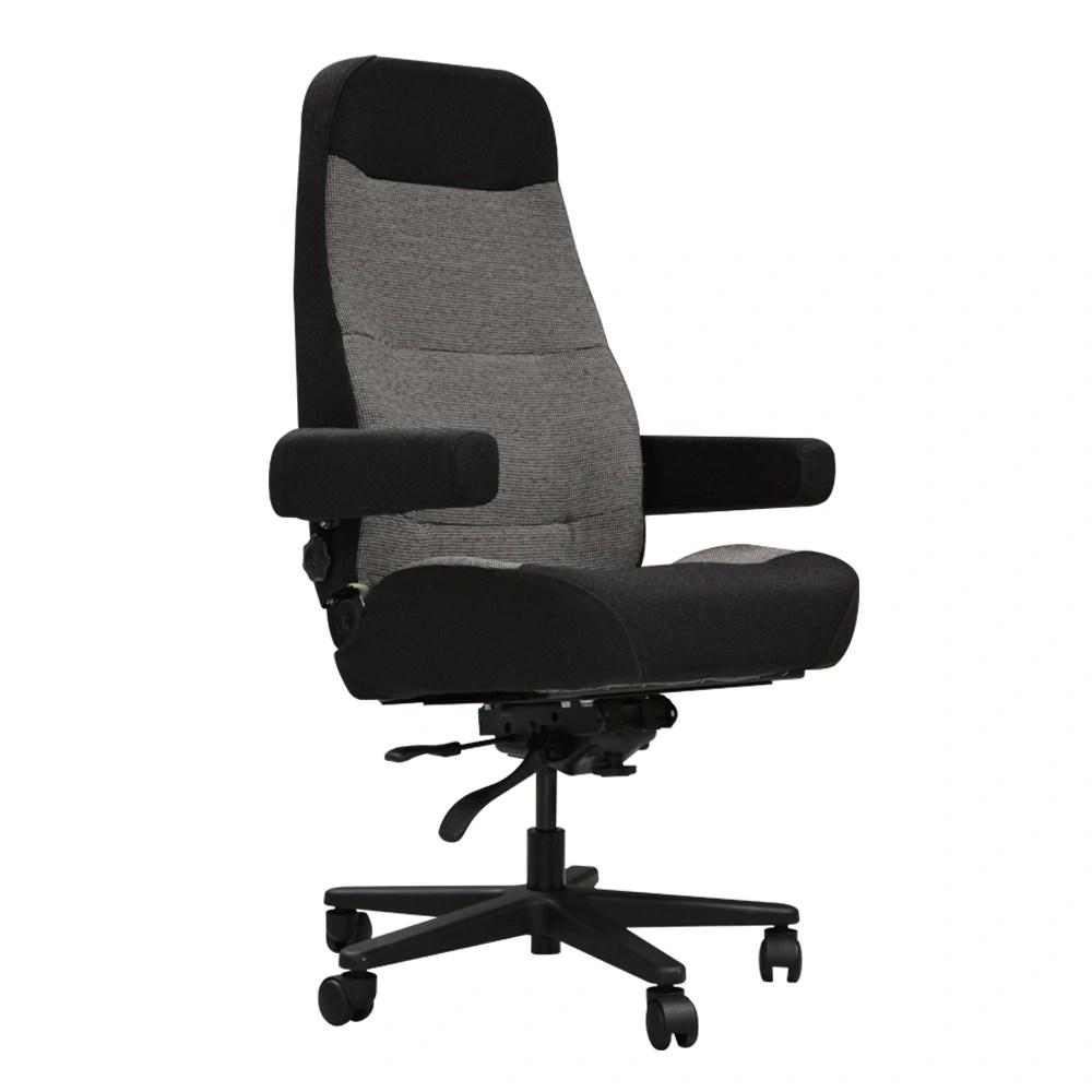 office chair steel base with wheels fishing swivel ho bostrom sierra dispatch w wheeled