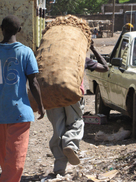 cheap kitchen carts gray cabinets bag of potatoes in isiolo kenya