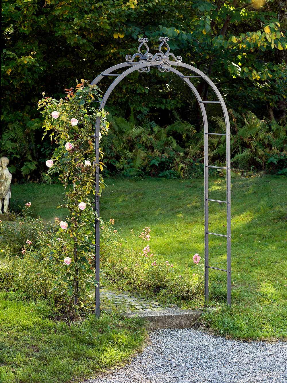 Rosenbogen und Rankhilfen aus massivem Metall fr jeden Garten